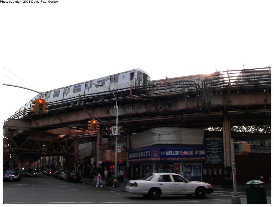 (209k, 1044x788)<br><b>Country:</b> United States<br><b>City:</b> New York<br><b>System:</b> New York City Transit<br><b>Line:</b> BMT Nassau Street-Jamaica Line<br><b>Location:</b> Crescent Street<br><b>Route:</b> J<br><b>Car:</b> R-42 (St. Louis, 1969-1970) 4783 <br><b>Photo by:</b> David-Paul Gerber<br><b>Date:</b> 6/11/2008<br><b>Viewed (this week/total):</b> 1 / 2953