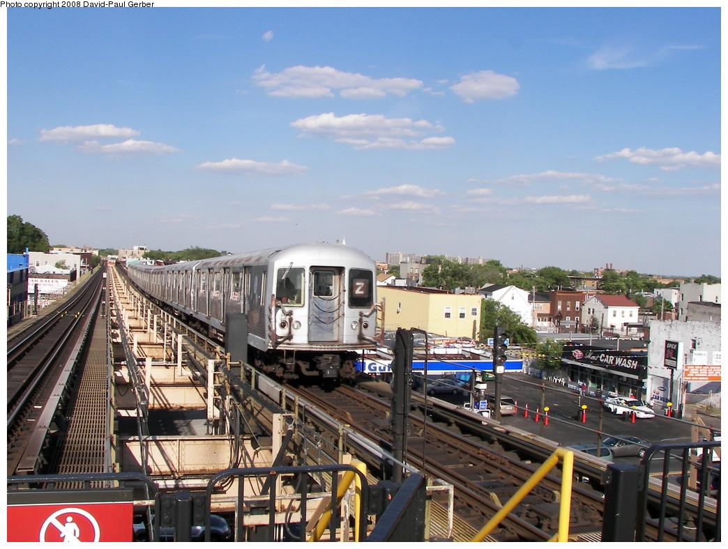 (299k, 1044x788)<br><b>Country:</b> United States<br><b>City:</b> New York<br><b>System:</b> New York City Transit<br><b>Line:</b> BMT Nassau Street-Jamaica Line<br><b>Location:</b> Alabama Avenue<br><b>Route:</b> Z<br><b>Car:</b> R-42 (St. Louis, 1969-1970) 4698 <br><b>Photo by:</b> David-Paul Gerber<br><b>Date:</b> 6/11/2008<br><b>Viewed (this week/total):</b> 5 / 3474