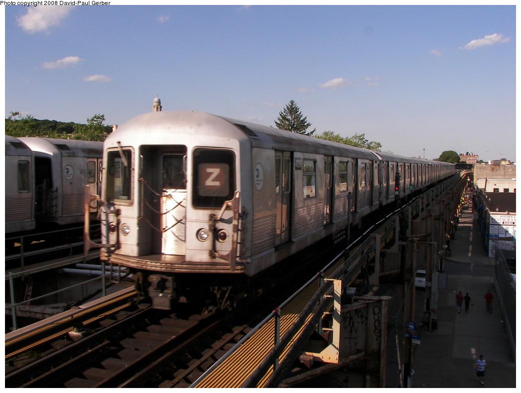(241k, 1044x788)<br><b>Country:</b> United States<br><b>City:</b> New York<br><b>System:</b> New York City Transit<br><b>Line:</b> BMT Nassau Street-Jamaica Line<br><b>Location:</b> Cypress Hills<br><b>Route:</b> Z<br><b>Car:</b> R-42 (St. Louis, 1969-1970) 4739 <br><b>Photo by:</b> David-Paul Gerber<br><b>Date:</b> 6/11/2008<br><b>Viewed (this week/total):</b> 5 / 2538