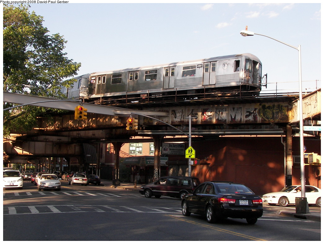 (302k, 1044x788)<br><b>Country:</b> United States<br><b>City:</b> New York<br><b>System:</b> New York City Transit<br><b>Line:</b> BMT Nassau Street-Jamaica Line<br><b>Location:</b> Cypress Hills<br><b>Route:</b> J<br><b>Car:</b> R-42 (St. Louis, 1969-1970) 4687 <br><b>Photo by:</b> David-Paul Gerber<br><b>Date:</b> 6/11/2008<br><b>Viewed (this week/total):</b> 1 / 3349