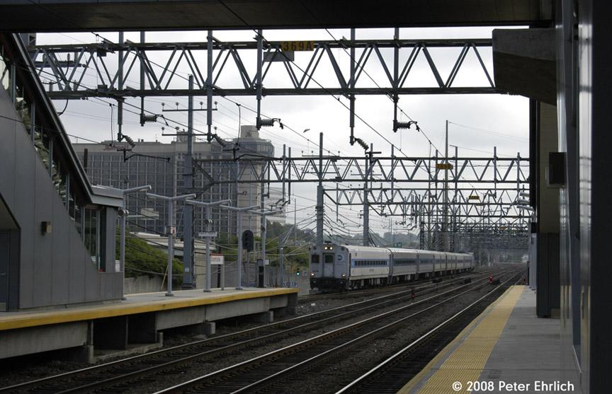 (195k, 864x557)<br><b>Country:</b> United States<br><b>System:</b> Metro-North Railroad (or Amtrak or Predecessor RR)<br><b>Line:</b> Metro North-New Haven Line<br><b>Location:</b> Stamford<br><b>Car:</b> MNRR/CDOT Shoreliner (Bombardier) 5108 <br><b>Photo by:</b> Peter Ehrlich<br><b>Date:</b> 7/22/2008<br><b>Viewed (this week/total):</b> 2 / 920