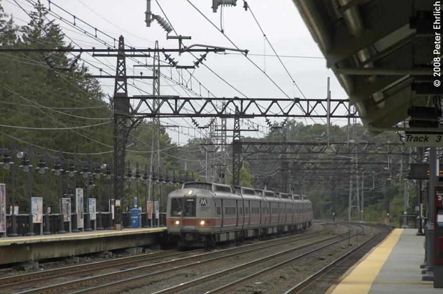 (203k, 864x574)<br><b>Country:</b> United States<br><b>System:</b> Metro-North Railroad (or Amtrak or Predecessor RR)<br><b>Line:</b> Metro North-New Haven Line<br><b>Location:</b> Darien<br><b>Car:</b> MNRR M-2 EMU (GE/Vickers) 8804 <br><b>Photo by:</b> Peter Ehrlich<br><b>Date:</b> 7/22/2008<br><b>Notes:</b> Outbound.<br><b>Viewed (this week/total):</b> 1 / 870