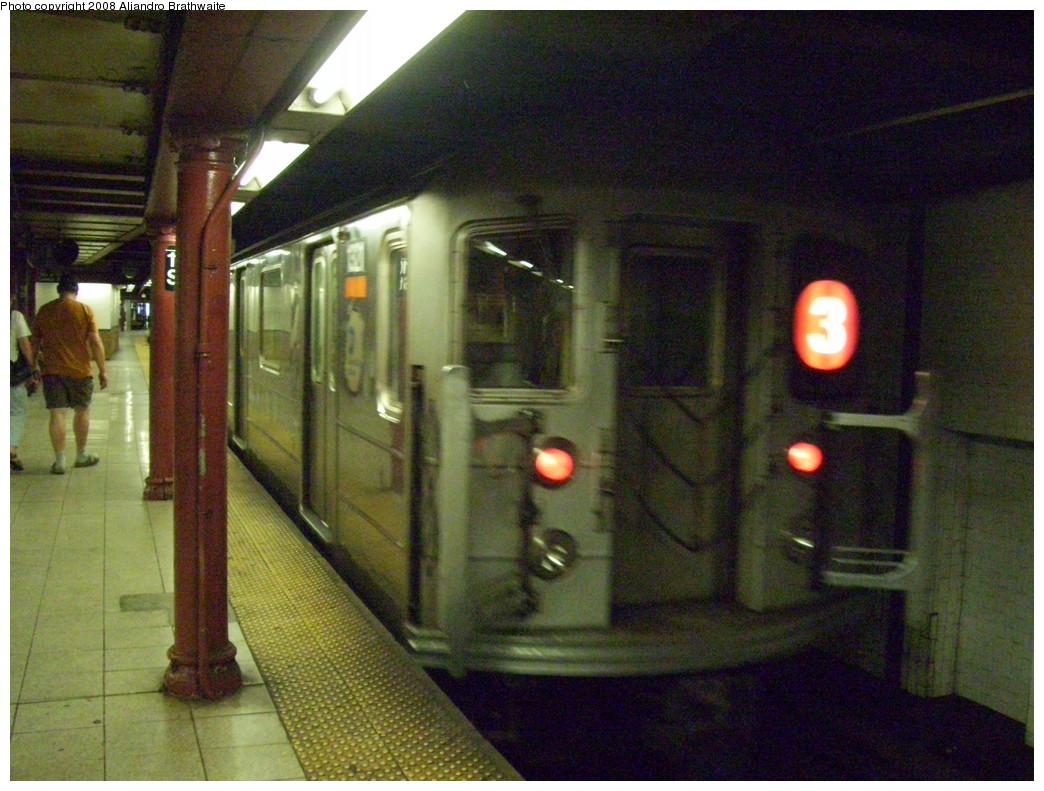 (258k, 1044x791)<br><b>Country:</b> United States<br><b>City:</b> New York<br><b>System:</b> New York City Transit<br><b>Line:</b> IRT Lenox Avenue Line<br><b>Location:</b> 110th Street/Central Park North<br><b>Route:</b> 3<br><b>Car:</b> R-62 (Kawasaki, 1983-1985) 1321 <br><b>Photo by:</b> Aliandro Brathwaite<br><b>Date:</b> 7/25/2008<br><b>Viewed (this week/total):</b> 1 / 3205