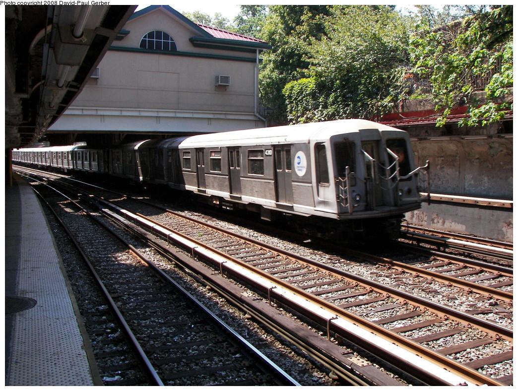 (408k, 1044x788)<br><b>Country:</b> United States<br><b>City:</b> New York<br><b>System:</b> New York City Transit<br><b>Line:</b> BMT Brighton Line<br><b>Location:</b> Beverley Road<br><b>Route:</b> B<br><b>Car:</b> R-40 (St. Louis, 1968) 4310 <br><b>Photo by:</b> David-Paul Gerber<br><b>Date:</b> 8/18/2008<br><b>Viewed (this week/total):</b> 0 / 1785