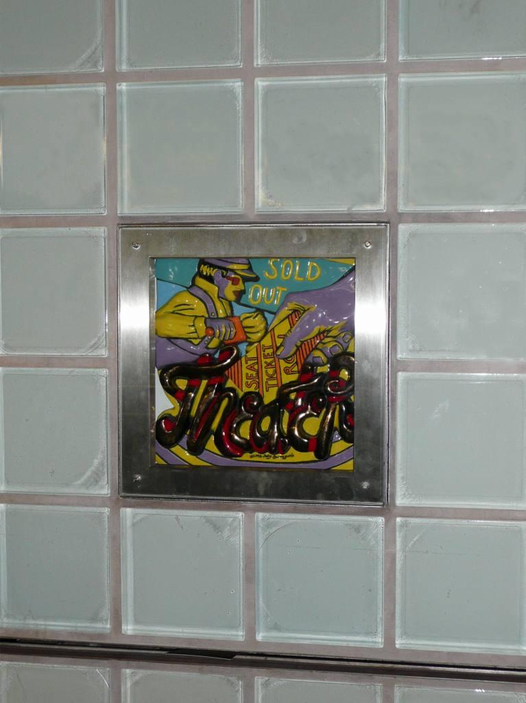 (82k, 767x1024)<br><b>Country:</b> United States<br><b>City:</b> New York<br><b>System:</b> New York City Transit<br><b>Line:</b> IRT West Side Line<br><b>Location:</b> Times Square/42nd Street<br><b>Photo by:</b> Robbie Rosenfeld<br><b>Date:</b> 8/31/2008<br><b>Artwork:</b> <i>Times Square Times: 35 Times</i>, Toby Buonagurio, 2005<br><b>Viewed (this week/total):</b> 0 / 1923