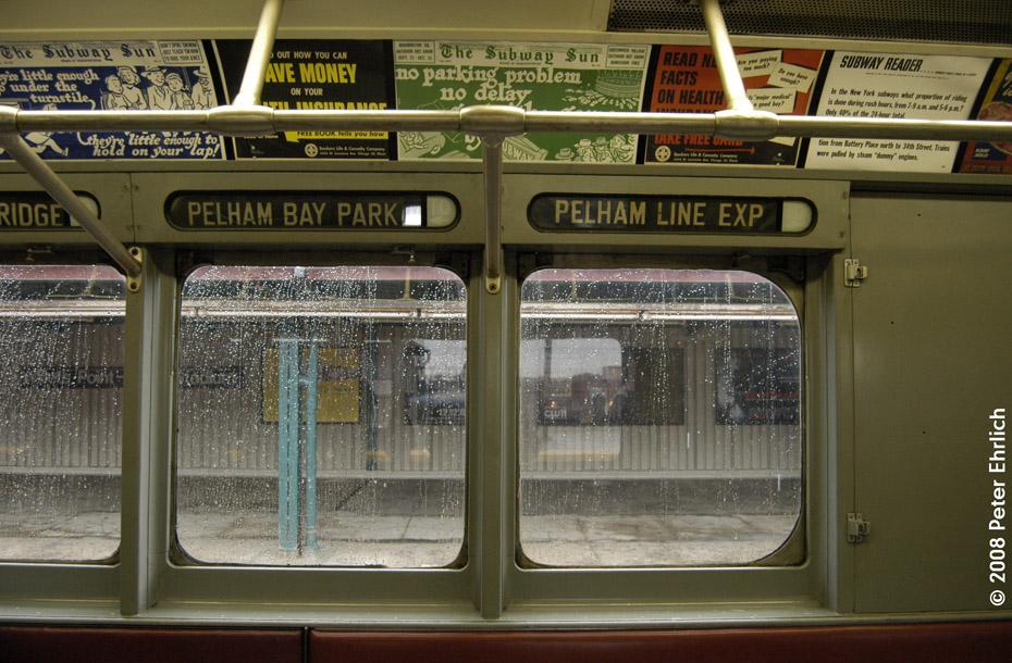 (230k, 930x610)<br><b>Country:</b> United States<br><b>City:</b> New York<br><b>System:</b> New York City Transit<br><b>Route:</b> Museum Train Service (7)<br><b>Car:</b> R-15 (American Car & Foundry, 1950) 6239 <br><b>Photo by:</b> Peter Ehrlich<br><b>Date:</b> 9/28/2008<br><b>Notes:</b> Rollsigns on R15 6239.<br><b>Viewed (this week/total):</b> 6 / 1726