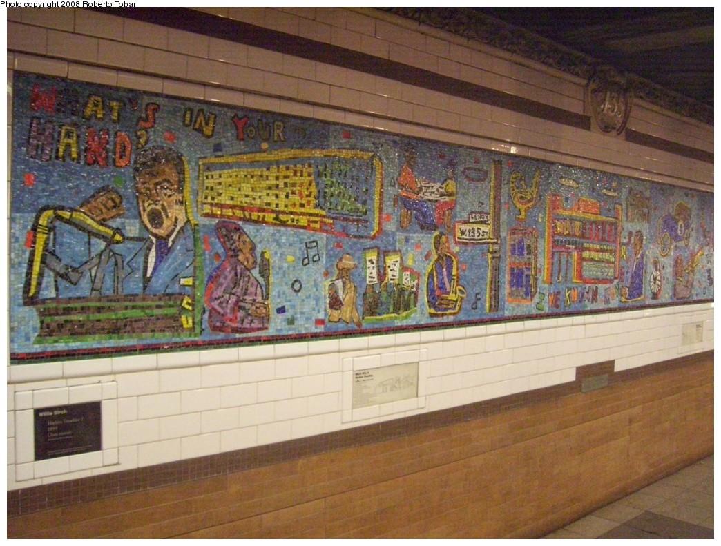 (239k, 1044x791)<br><b>Country:</b> United States<br><b>City:</b> New York<br><b>System:</b> New York City Transit<br><b>Line:</b> IRT Lenox Avenue Line<br><b>Location:</b> 135th Street<br><b>Photo by:</b> Roberto C. Tobar<br><b>Date:</b> 10/10/2008<br><b>Viewed (this week/total):</b> 1 / 1716