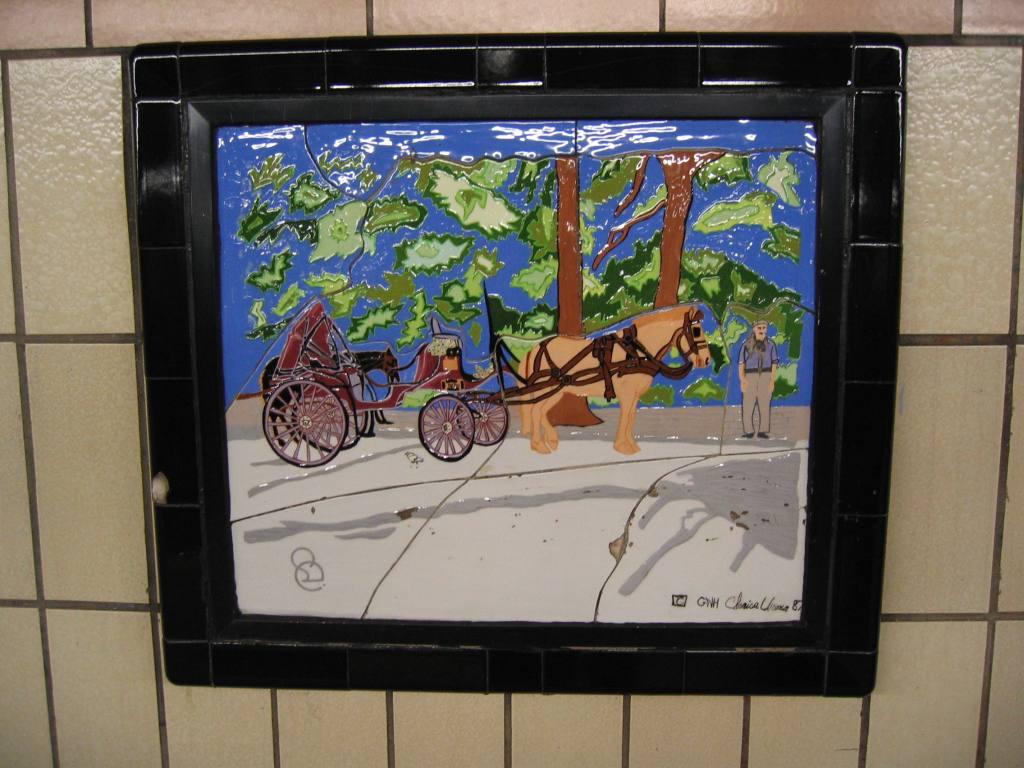 (111k, 1024x768)<br><b>Country:</b> United States<br><b>City:</b> New York<br><b>System:</b> New York City Transit<br><b>Line:</b> IRT West Side Line<br><b>Location:</b> 86th Street<br><b>Photo by:</b> Robbie Rosenfeld<br><b>Date:</b> 5/4/2005<br><b>Artwork:</b> <i>Westside Views</i>, Nitza Tufino, 1989<br><b>Viewed (this week/total):</b> 2 / 1893