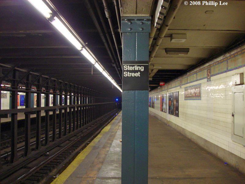 (85k, 800x600)<br><b>Country:</b> United States<br><b>City:</b> New York<br><b>System:</b> New York City Transit<br><b>Line:</b> IRT Brooklyn Line<br><b>Location:</b> Sterling Street<br><b>Photo by:</b> Phillip Lee<br><b>Date:</b> 3/14/2008<br><b>Viewed (this week/total):</b> 3 / 3129