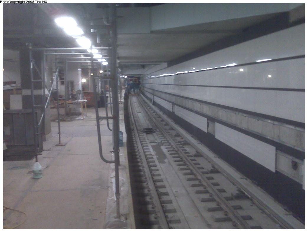(169k, 1044x788)<br><b>Country:</b> United States<br><b>City:</b> New York<br><b>System:</b> New York City Transit<br><b>Line:</b> IRT West Side Line<br><b>Location:</b> South Ferry (New Station)<br><b>Photo by:</b> The NX<br><b>Date:</b> 11/20/2008<br><b>Viewed (this week/total):</b> 2 / 3202