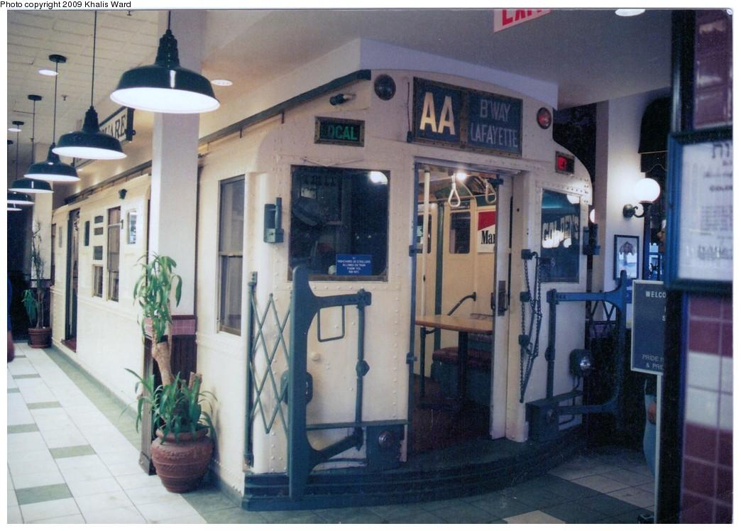 (196k, 1044x748)<br><b>Country:</b> United States<br><b>City:</b> New York<br><b>System:</b> New York City Transit<br><b>Location:</b> Golden's Deli - Staten Island Mall<br><b>Car:</b> R-6-3 (American Car & Foundry, 1935) 978 <br><b>Photo by:</b> Khalis Ward<br><b>Viewed (this week/total):</b> 4 / 5922